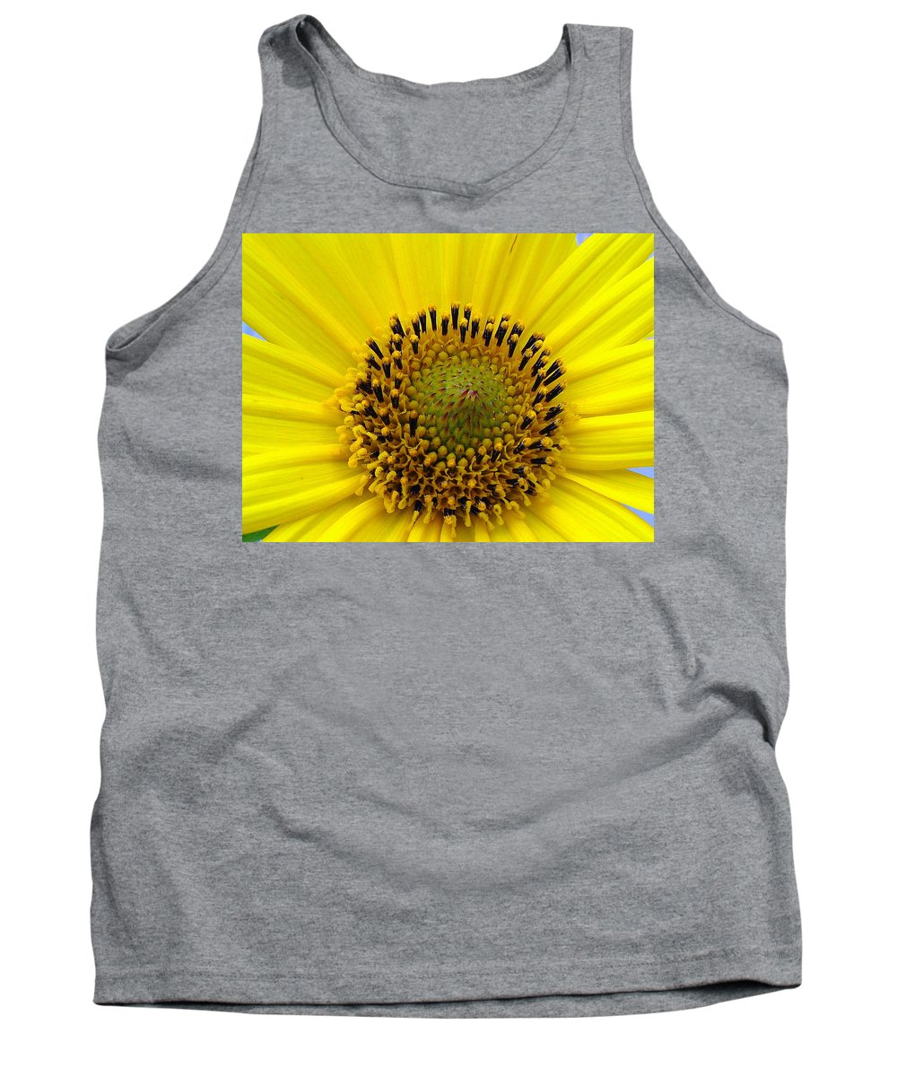 Tank Top featuring the photograph Sun Flower by Luciana Seymour