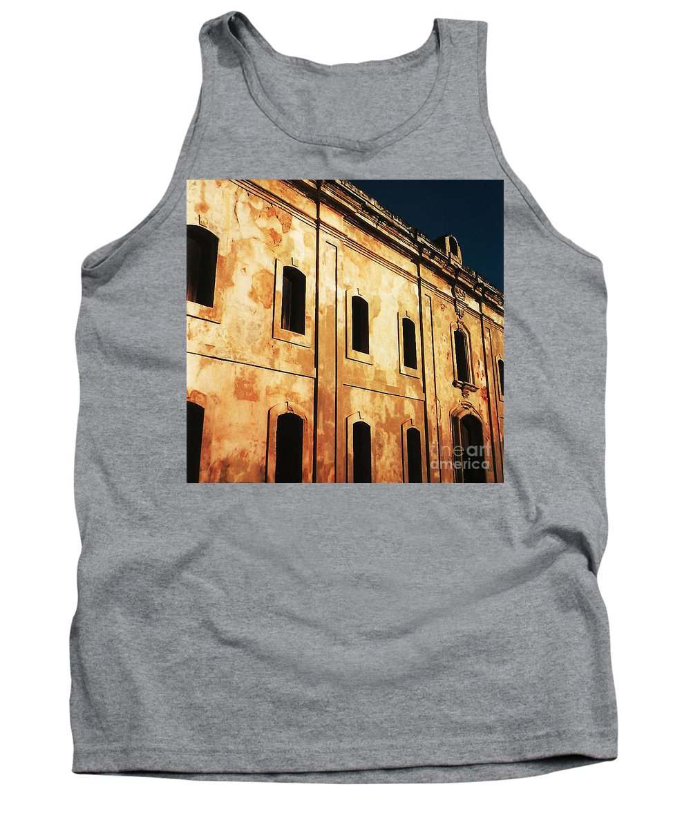 Buildings Tank Top featuring the photograph Sun Kissed by Jeff Barrett