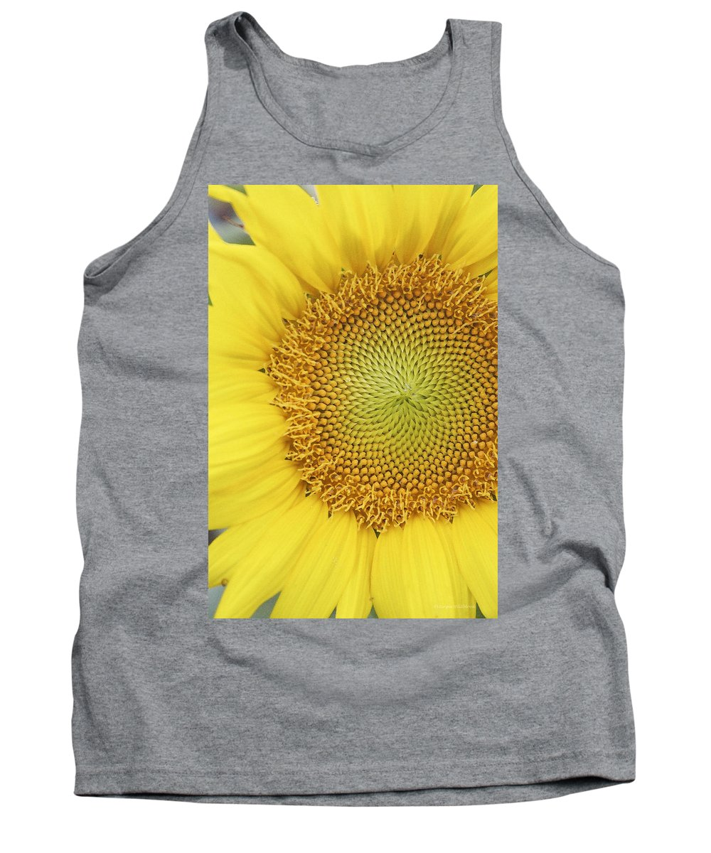 Sunflower Tank Top featuring the photograph Sunflower by Margie Wildblood