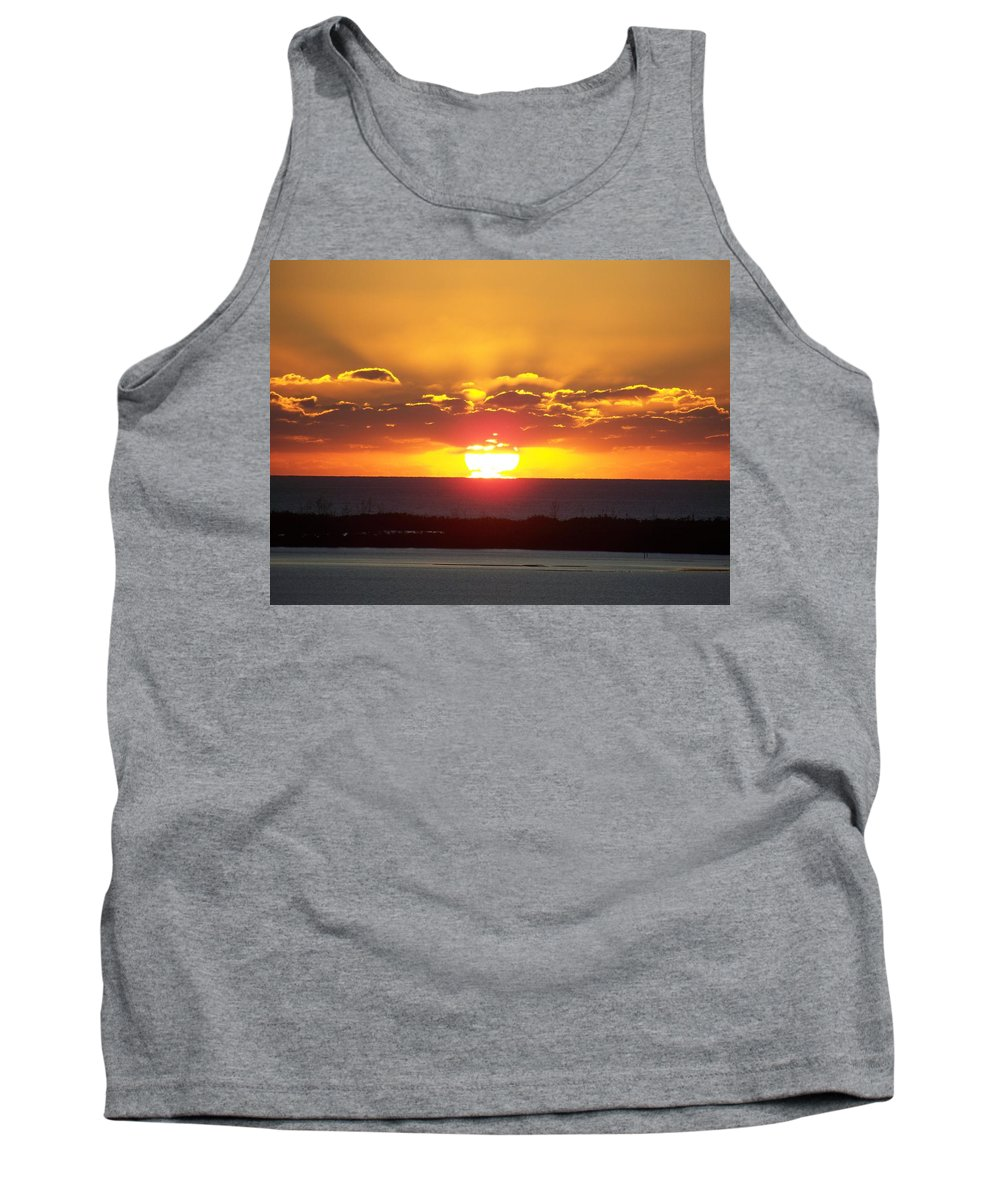 Sunset Tank Top featuring the photograph Sunset 0010 by Laurie Paci