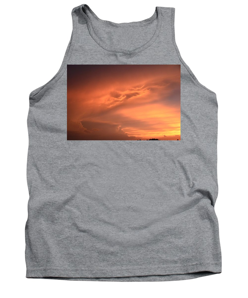 Sunset Tank Top featuring the photograph Sunset by Justin Langford