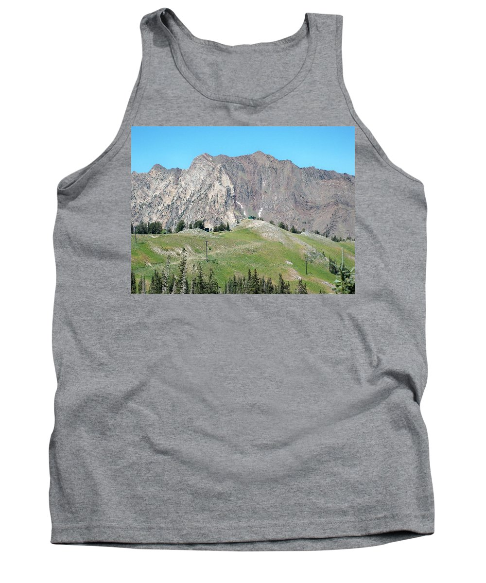Landscape Tank Top featuring the photograph Superior by Michael Cuozzo
