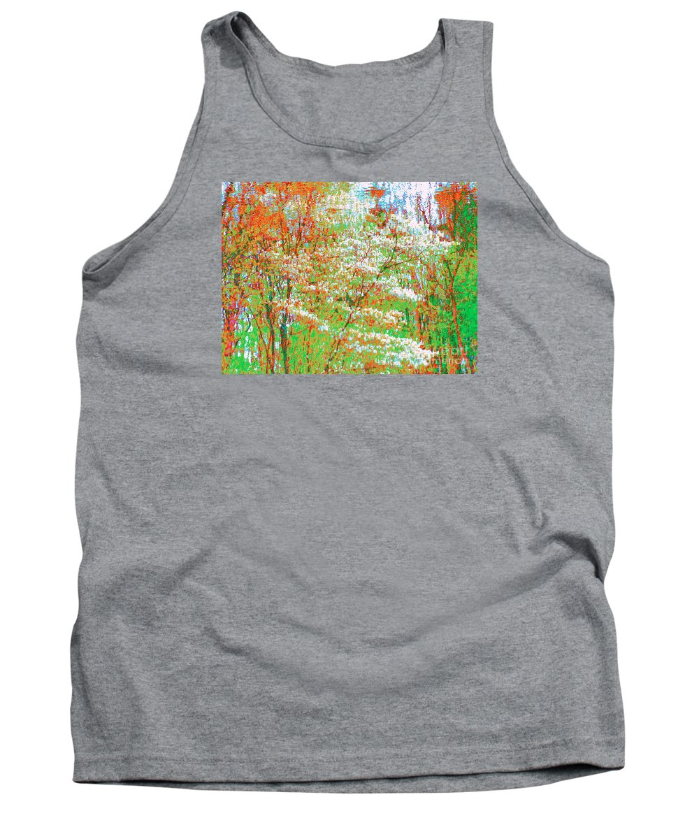 Water Tank Top featuring the photograph Lightness Of Surrender by Sybil Staples