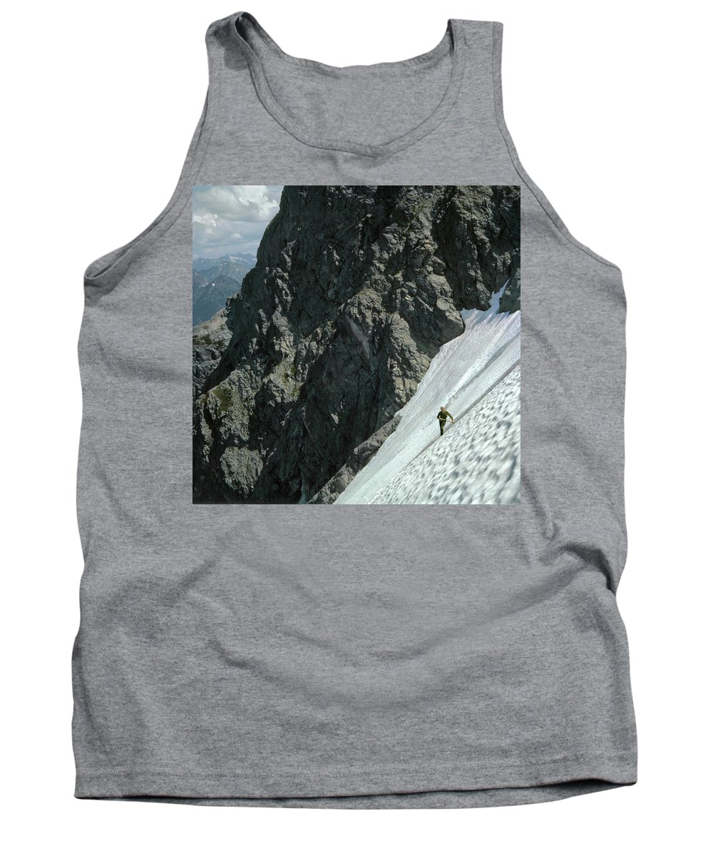 T504102 Tank Top featuring the photograph T-504102 1st Ascent On Mt. Shuksan by Ed Cooper Photography