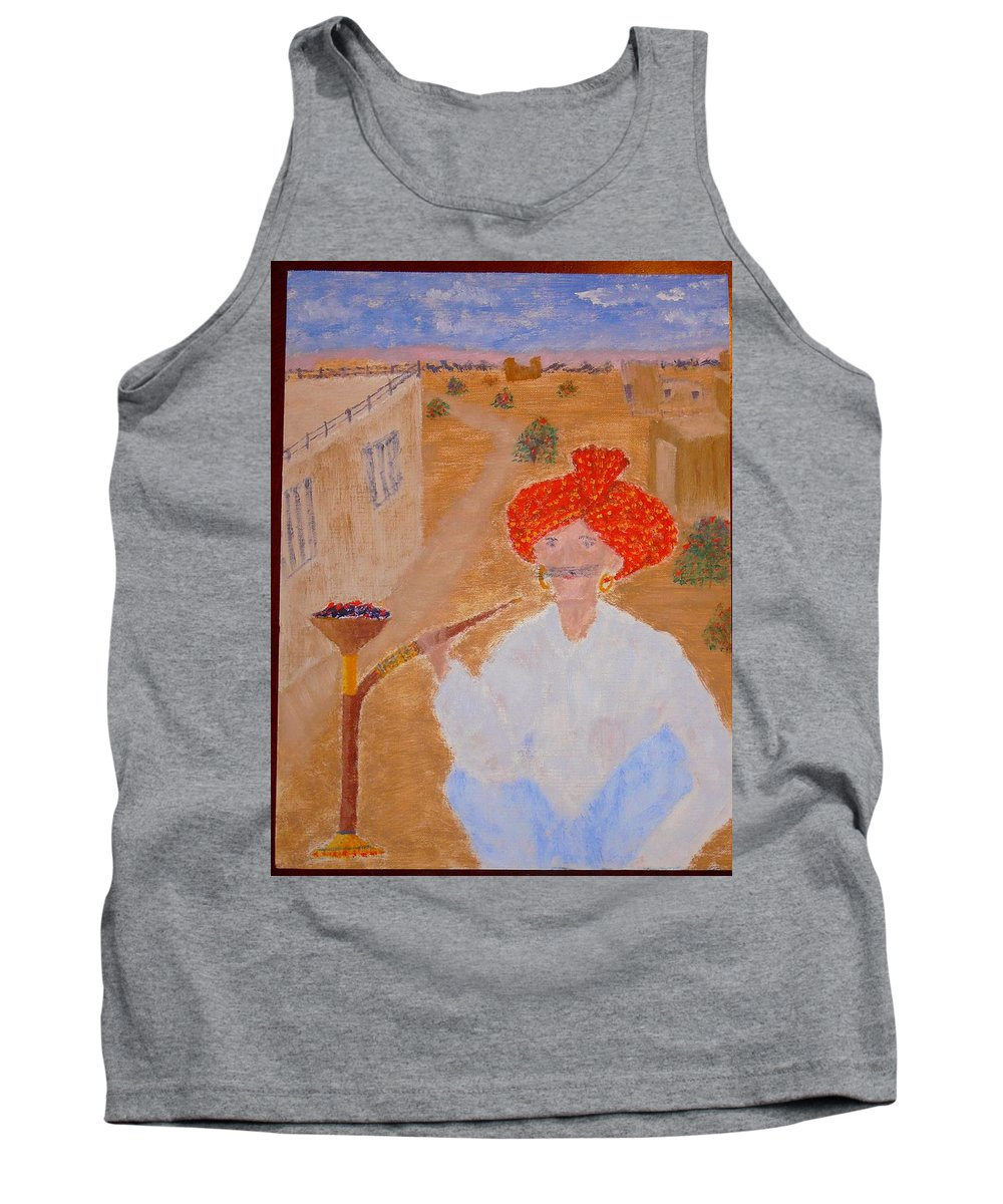 People Tank Top featuring the painting Tau by R B