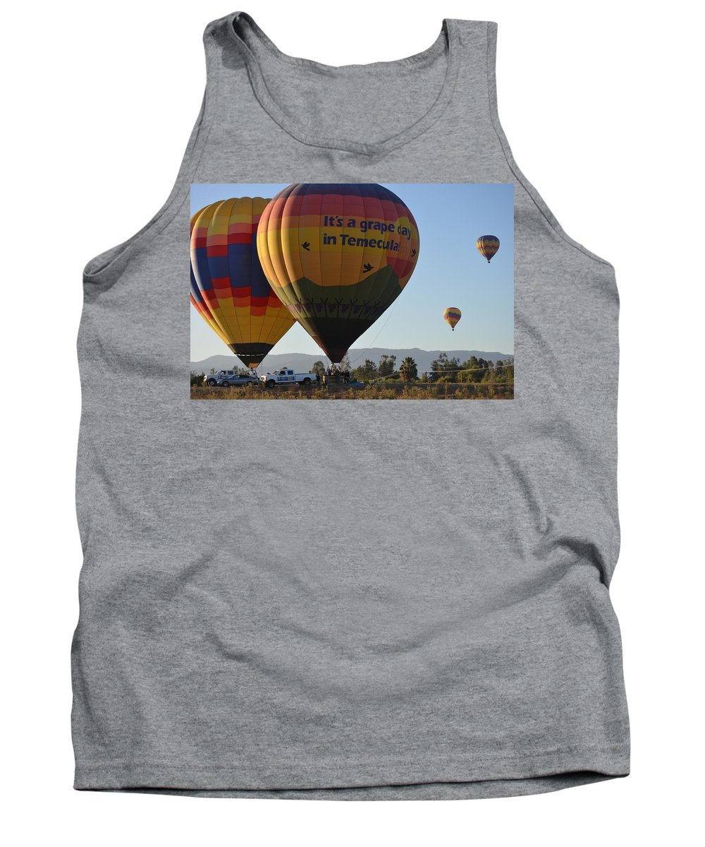 Temecula Wine Country Tank Top featuring the photograph Temecula Wine Country by Christine Owens