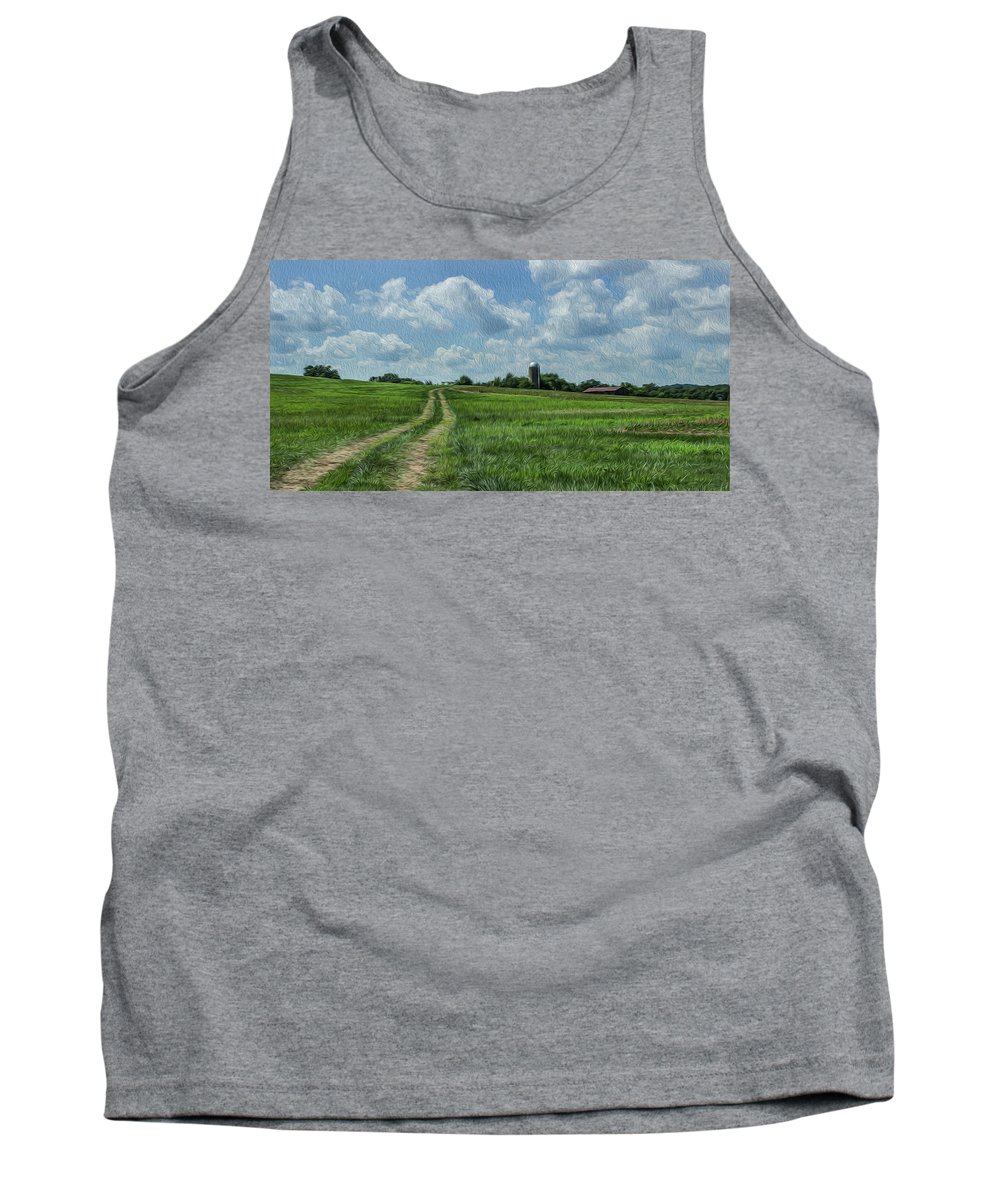 America Tank Top featuring the photograph Tennessee Countryside by Todd Hughes