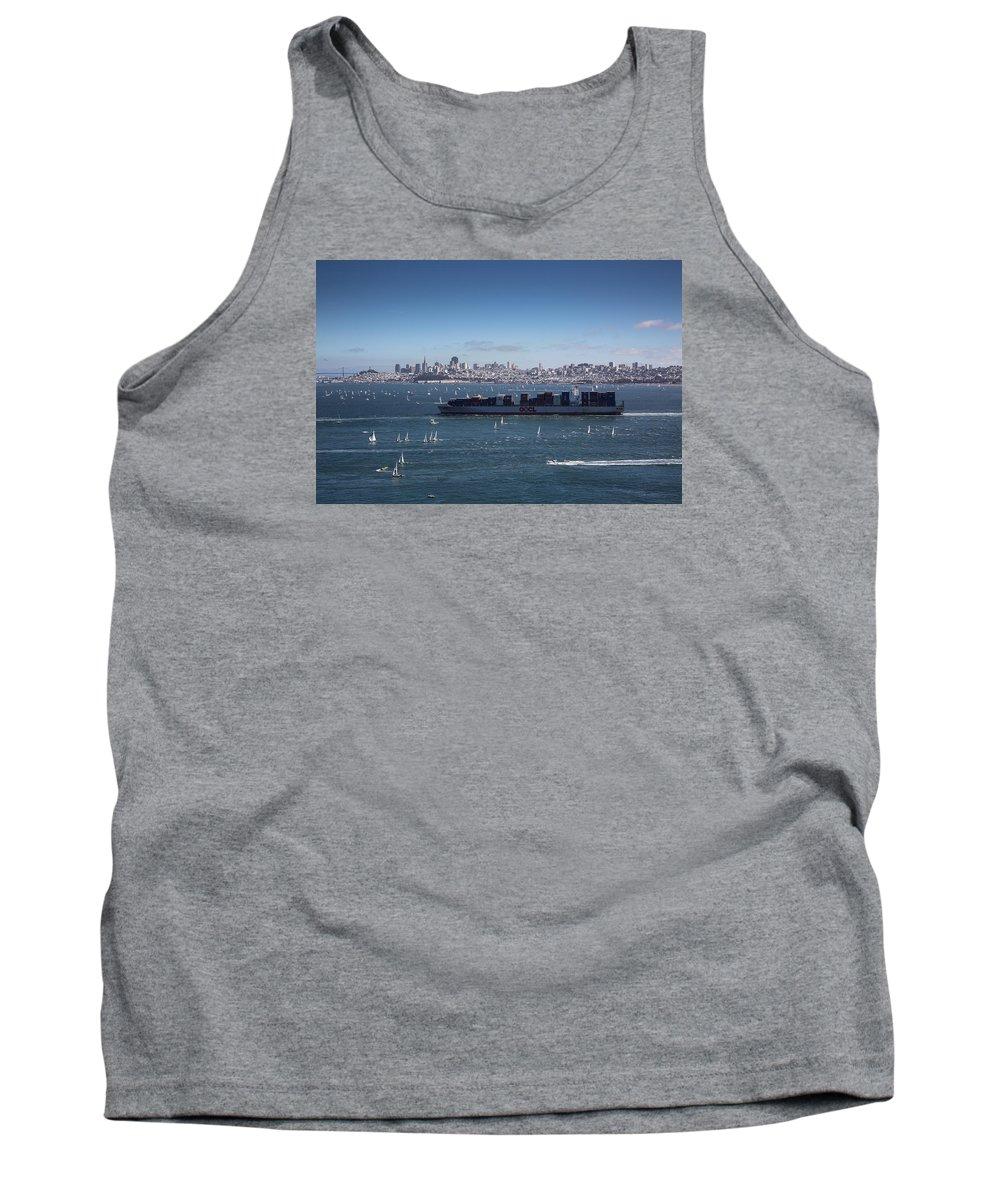 Cargo Tank Top featuring the photograph The Bay by Rafael Jimenez