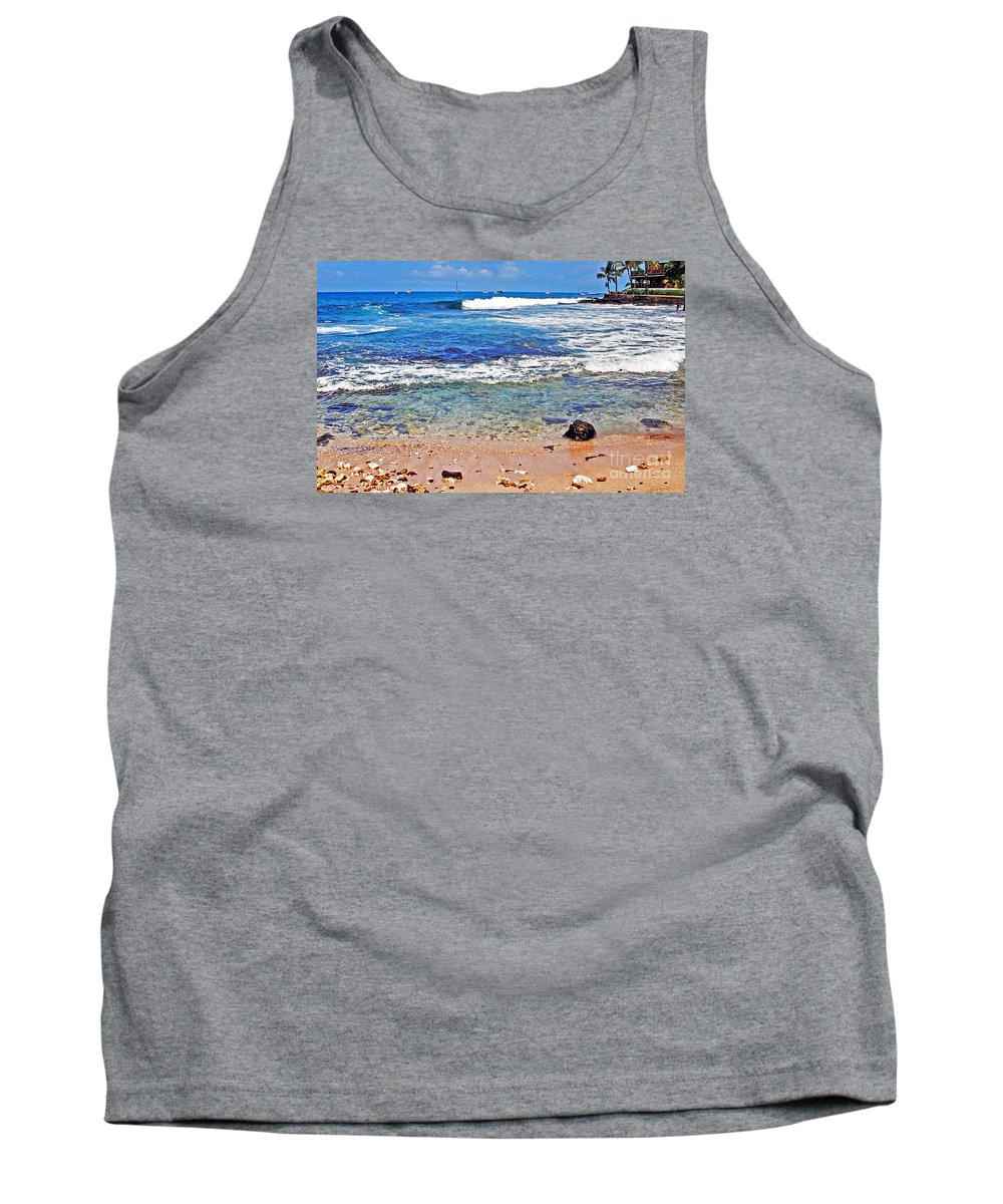 Hawaii Tank Top featuring the photograph The Big Island by Lydia Holly