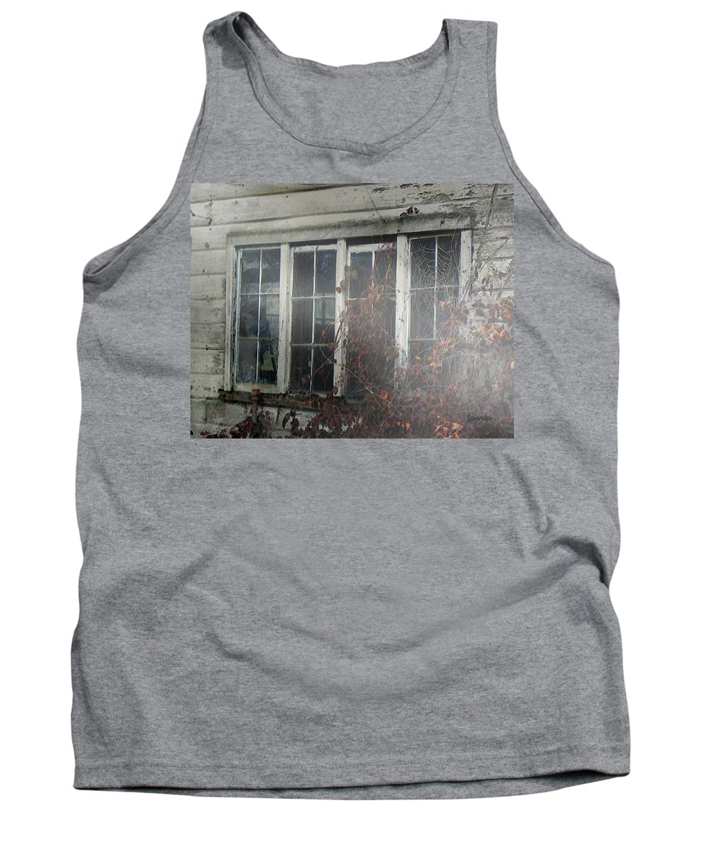 Boy Tank Top featuring the painting The Child At The Window by RC DeWinter