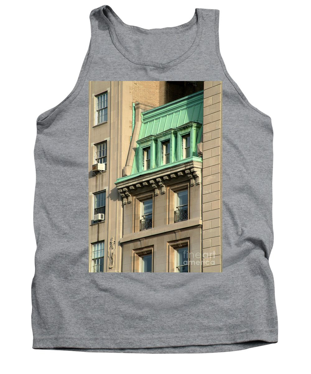 Apartments Tank Top featuring the photograph The Copper Attic by RC DeWinter