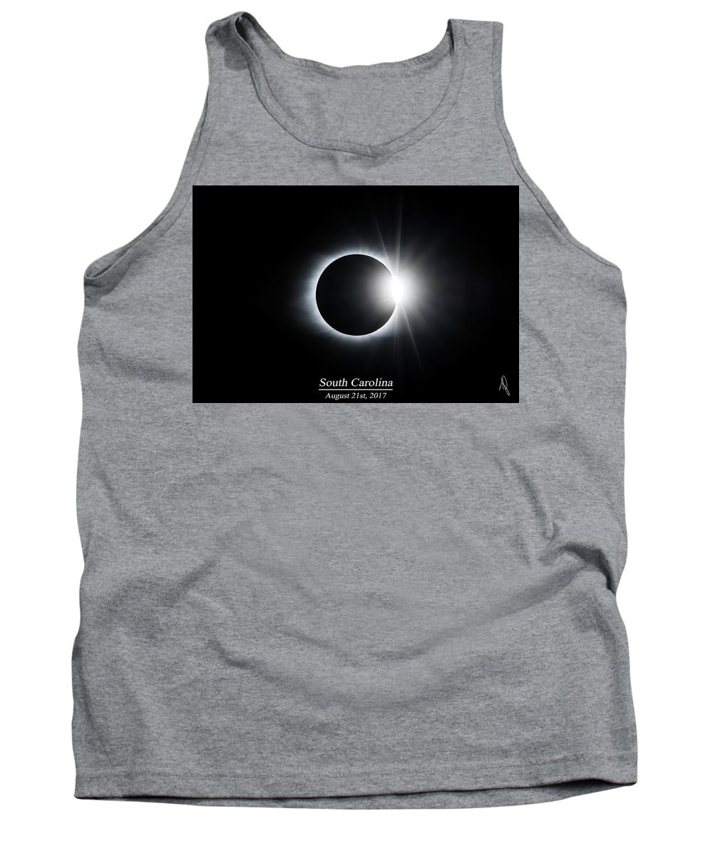 2017 Tank Top featuring the photograph The Diamond Ring by Ryan Feeley