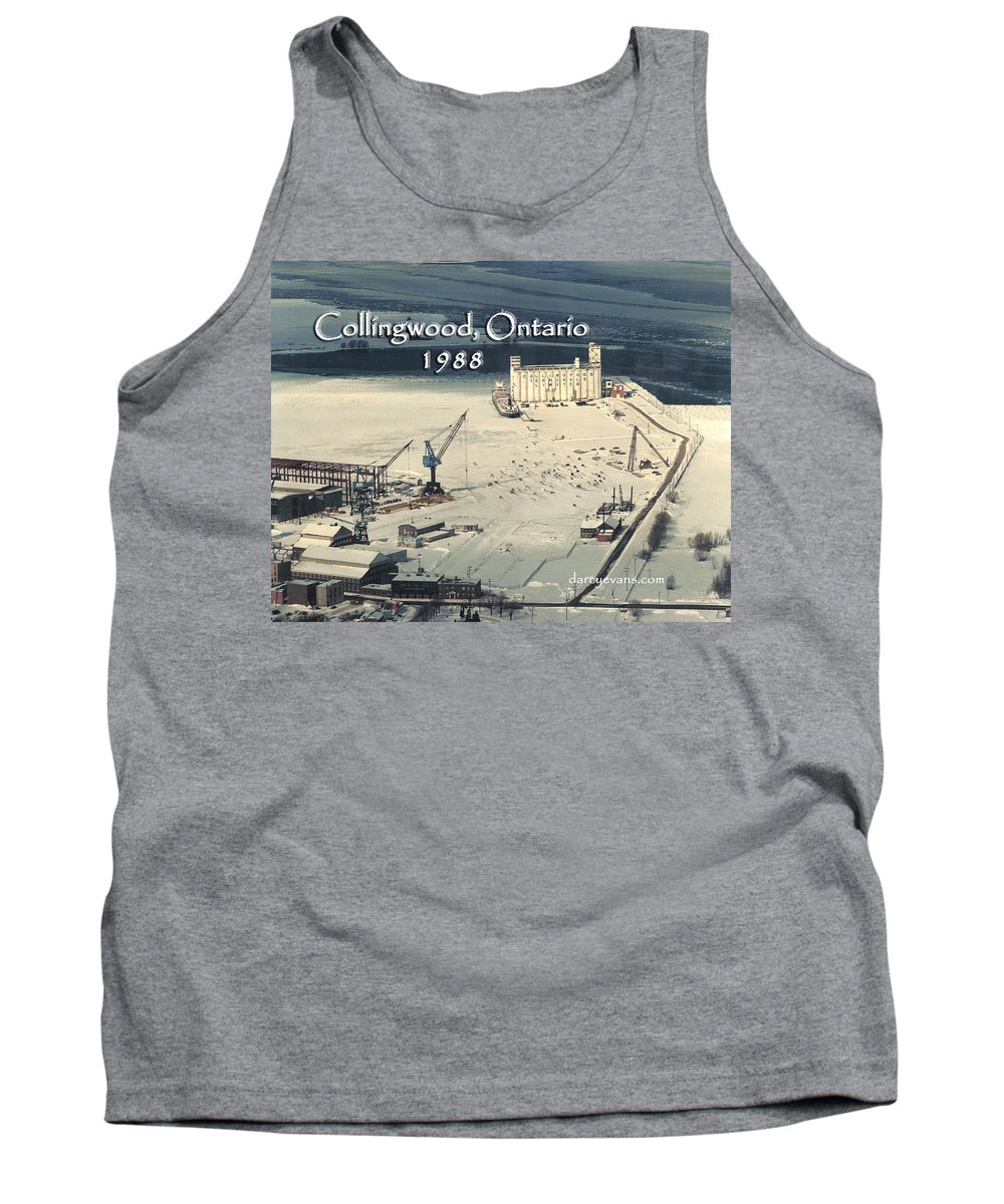 Collingwood Tank Top featuring the photograph The Dock - Revisited by D'Arcy Evans