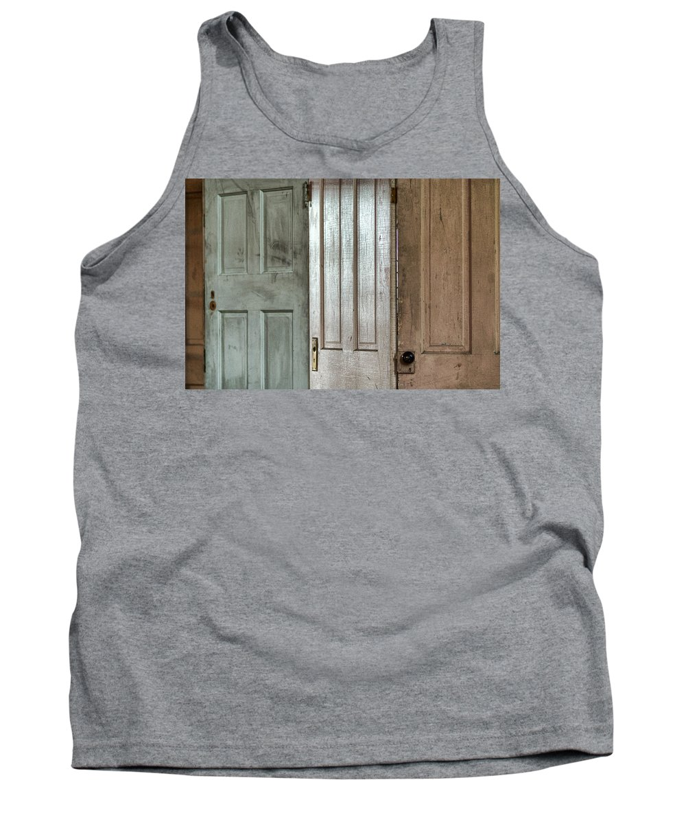 Doors Tank Top featuring the photograph The Doors by Michael McGowan
