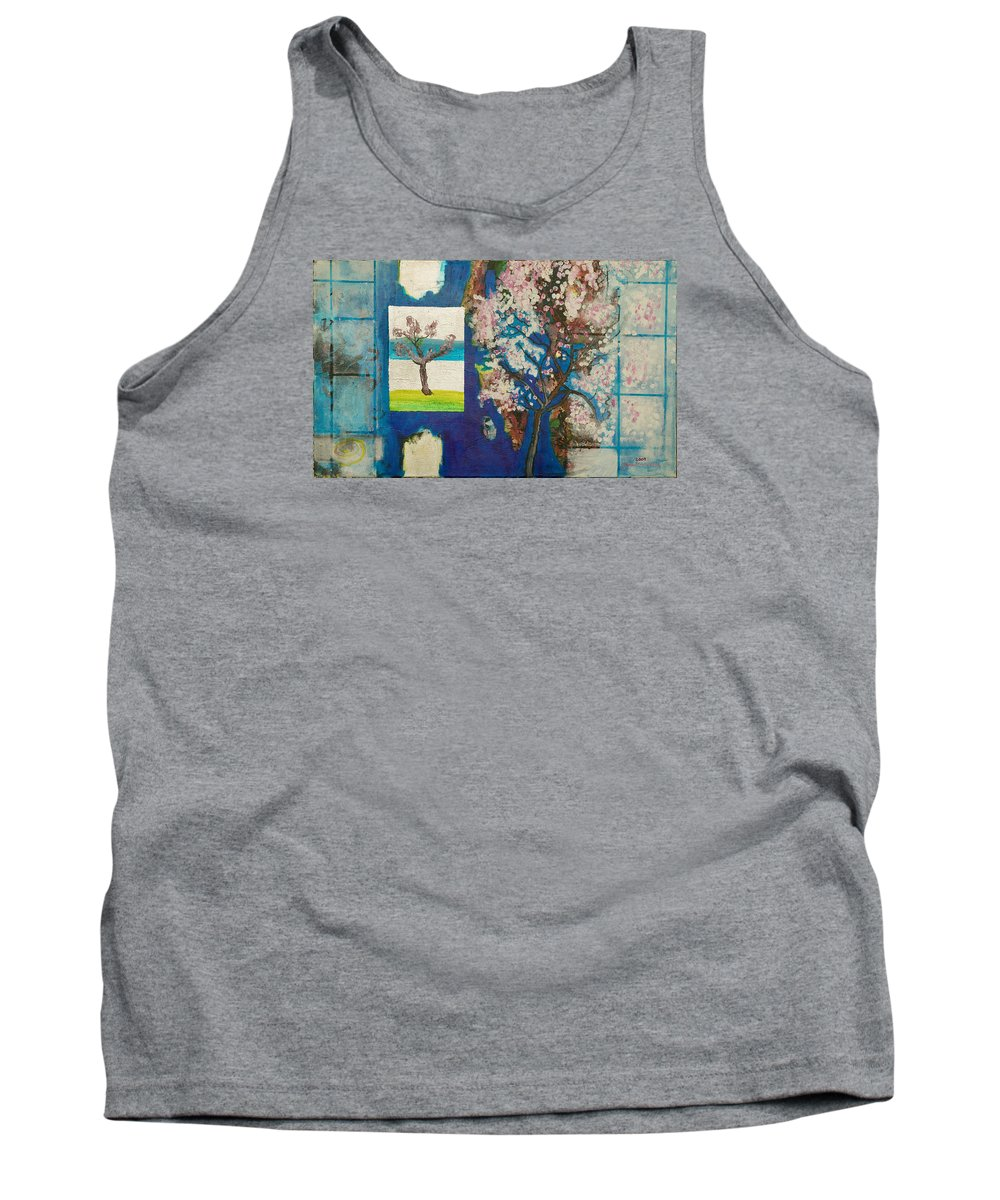 Tank Top featuring the painting The Dream by Jarle Rosseland