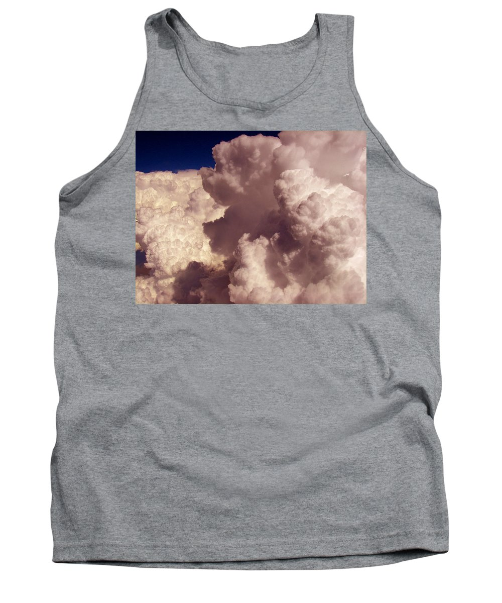 Sky Animals Tank Top featuring the photograph The Elf And Schnauzer At 33k by Strato ThreeSIXTYFive