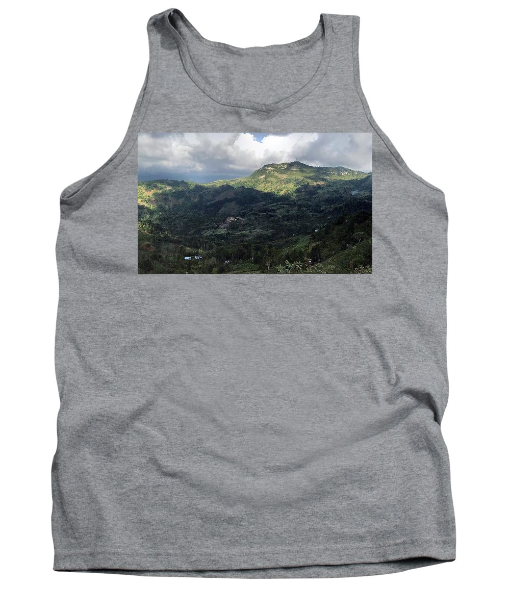 Landscape Tank Top featuring the photograph The Expanse by Vely