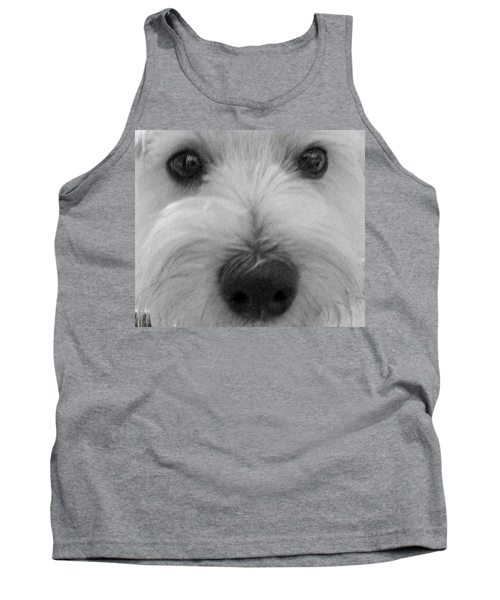 Dog Tank Top featuring the photograph The Eyes Have It by Ed Smith