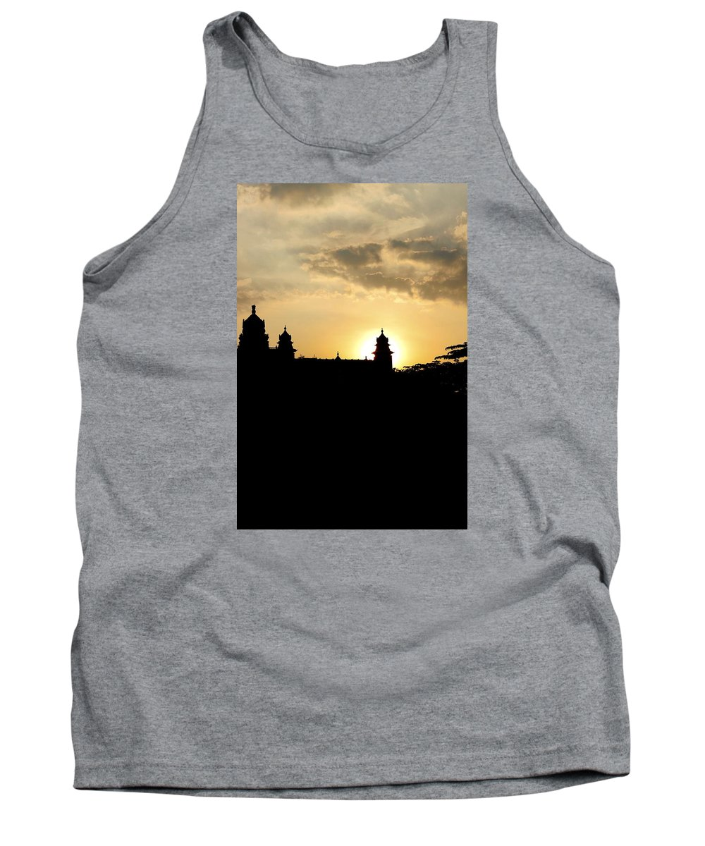 Fort Tank Top featuring the photograph The Fort by Arundhati Shenoy
