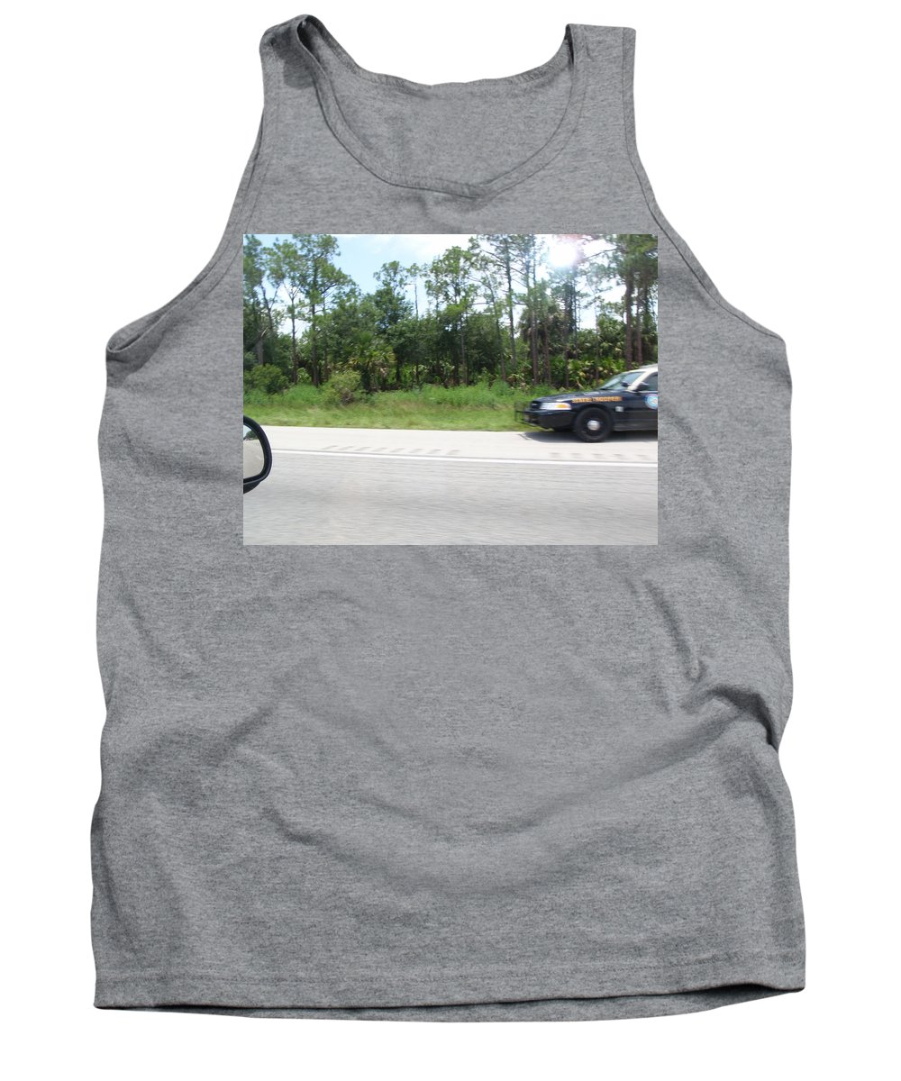 Getaway Tank Top featuring the photograph The Getaway by Are Lund