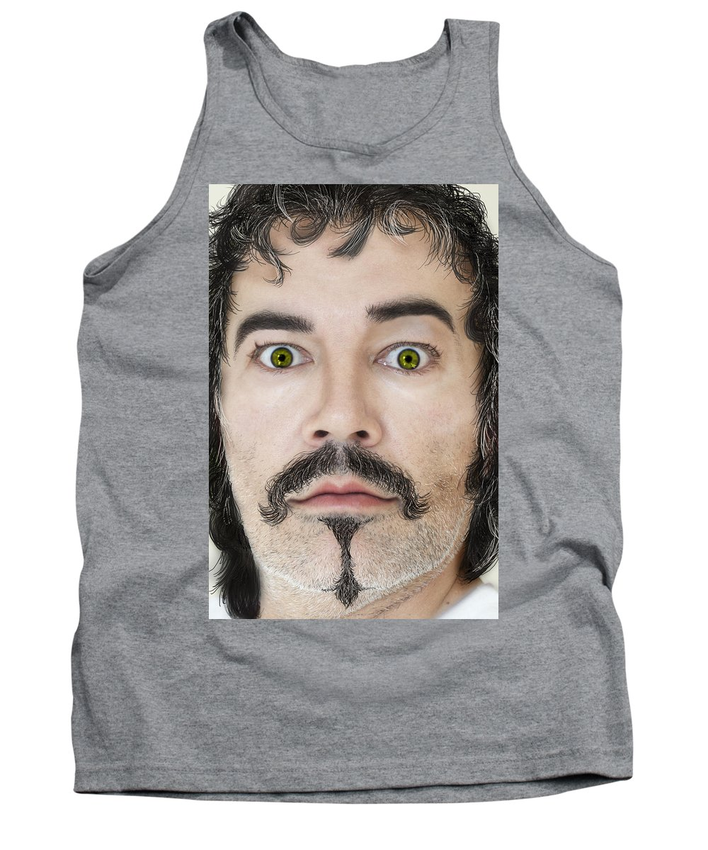 Face Tank Top featuring the photograph The Good Guy by Henri Irizarri