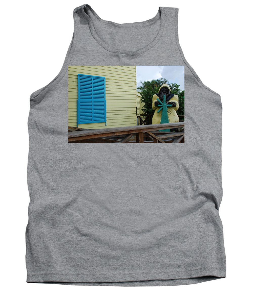 Architecture Tank Top featuring the photograph The Gordons Fisherman by Rob Hans