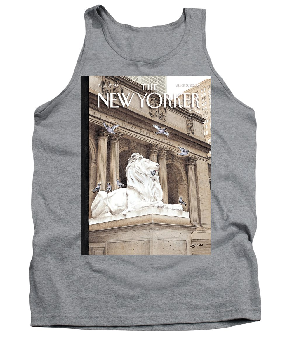 New Tank Top featuring the photograph It Is A Jungle Out There by Harry Bliss