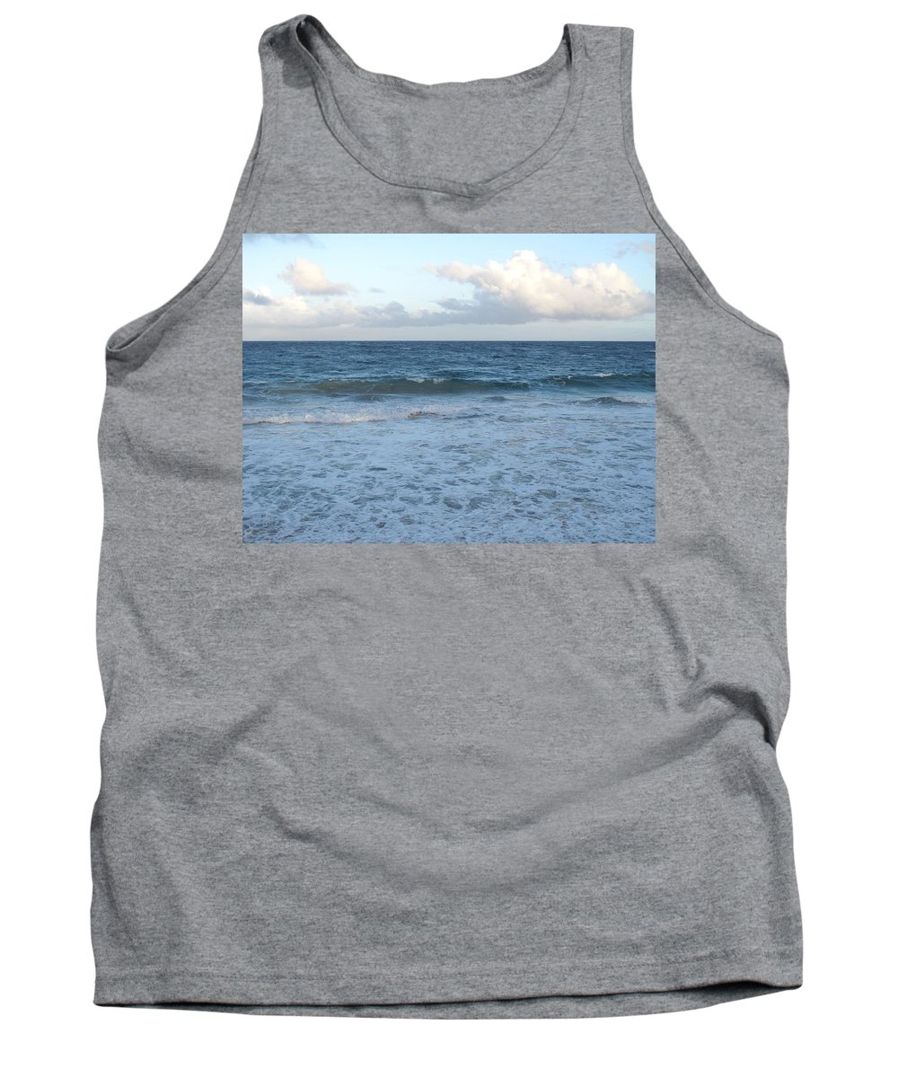 Surf Tank Top featuring the photograph The Next Wave by Ian MacDonald