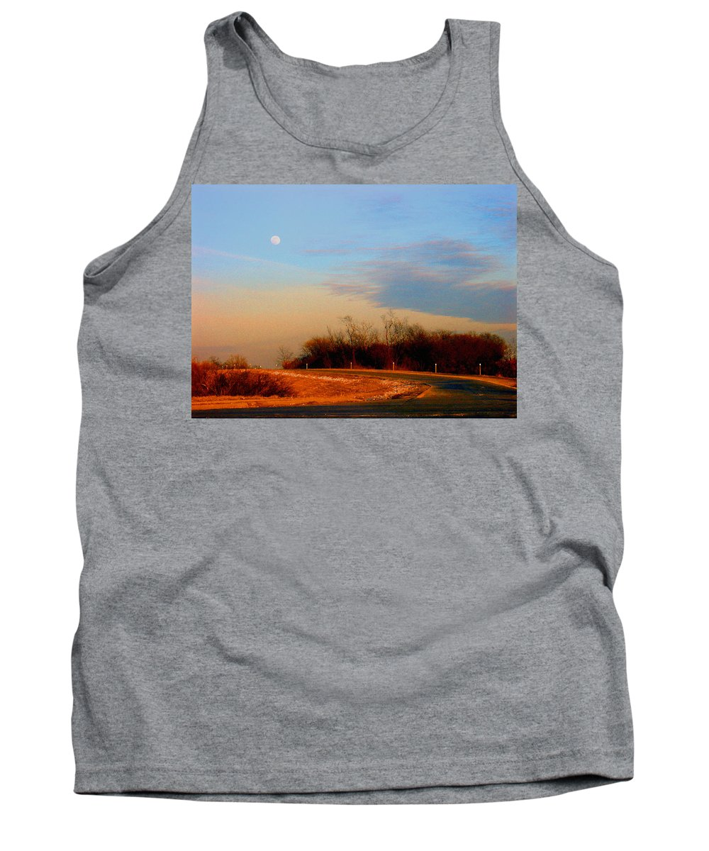 Landscape Tank Top featuring the photograph The On Ramp by Steve Karol