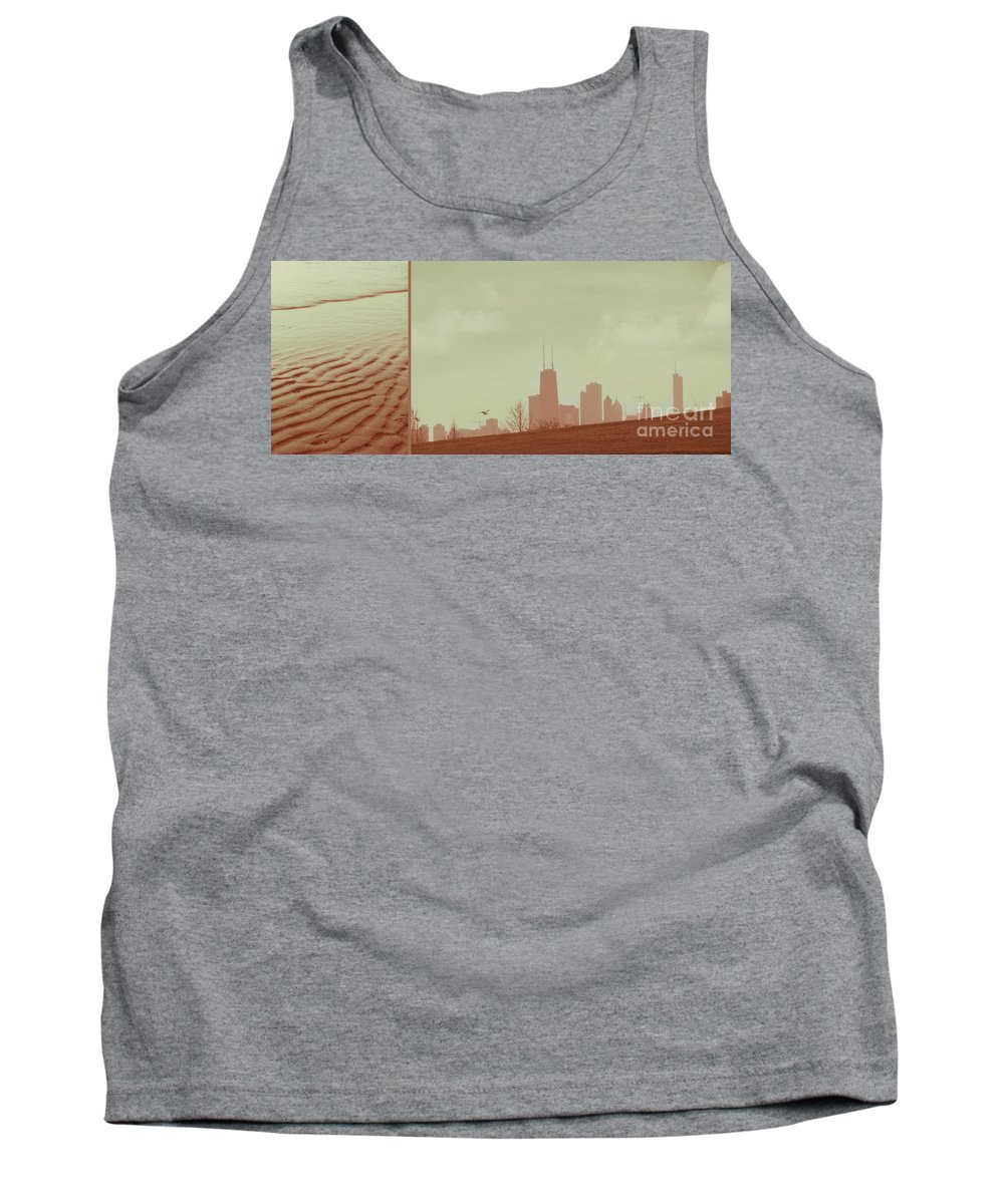 Beach Tank Top featuring the photograph The Other Side Of Fate by Dana DiPasquale
