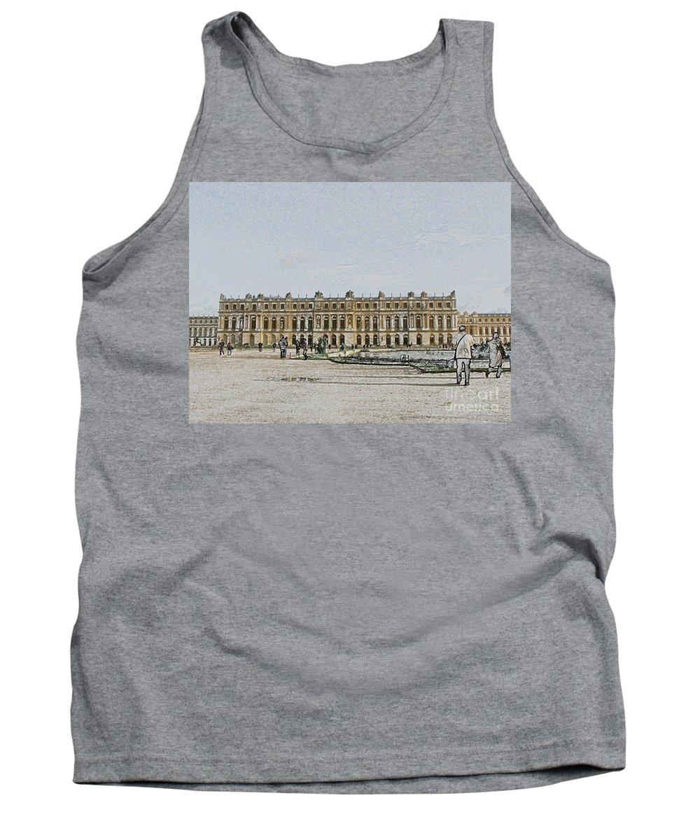 Palace Tank Top featuring the photograph The Palace Of Versailles by Amanda Barcon