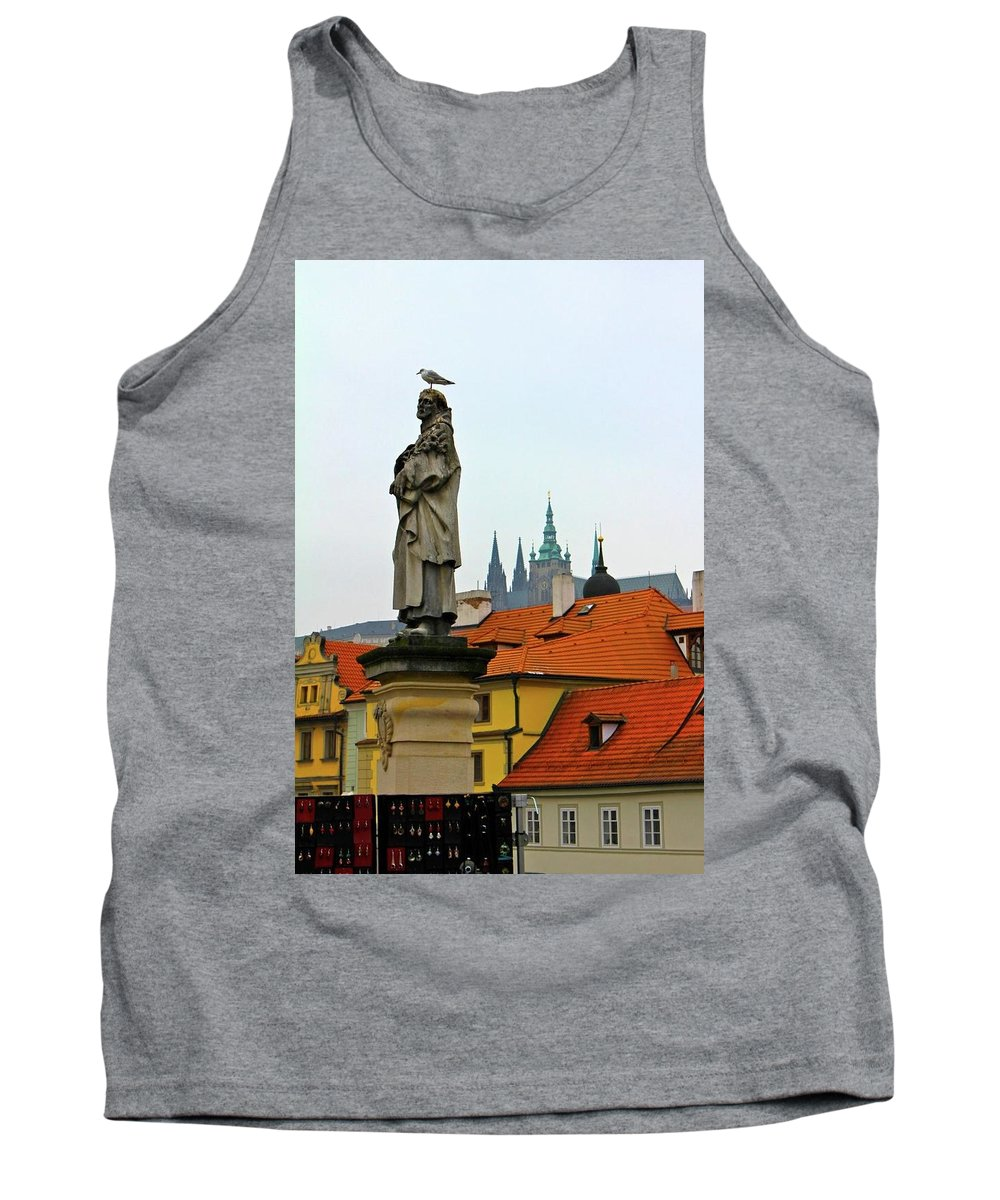 Bird Tank Top featuring the photograph The Perch by Christin Brodie