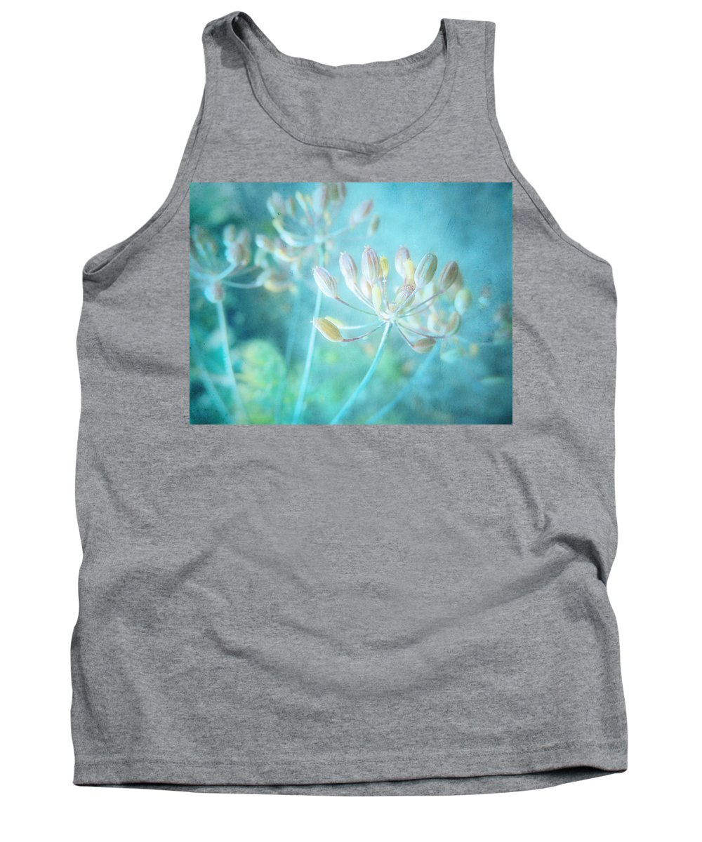 Weeds Tank Top featuring the photograph The Quiet by Tara Turner
