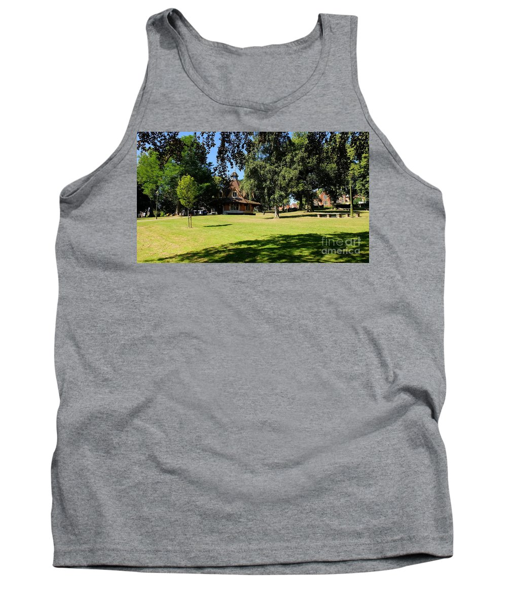 Bournville Tank Top featuring the photograph The Rest House Bournville by John Chatterley