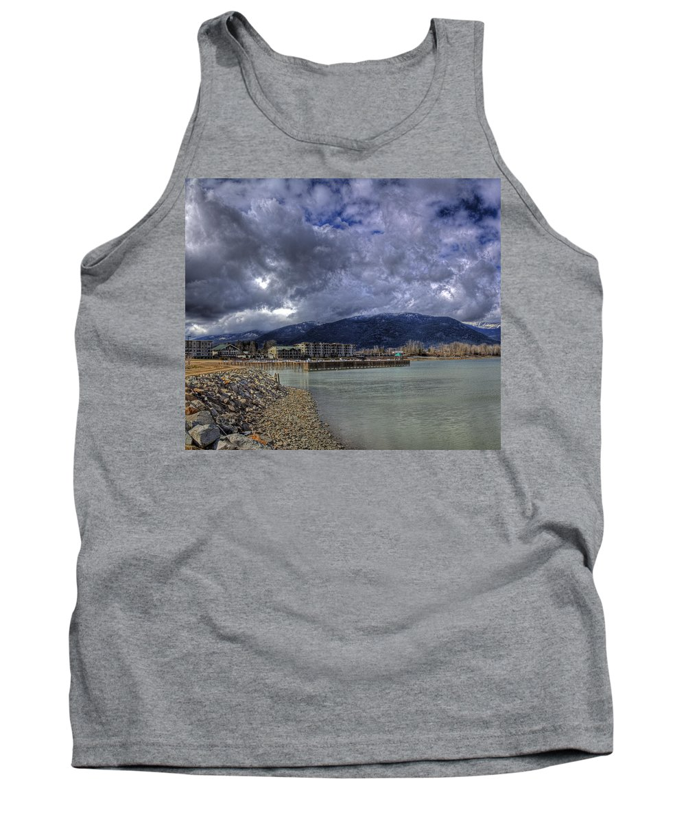 Landscape Tank Top featuring the photograph The Seasons Sandpoint by Lee Santa