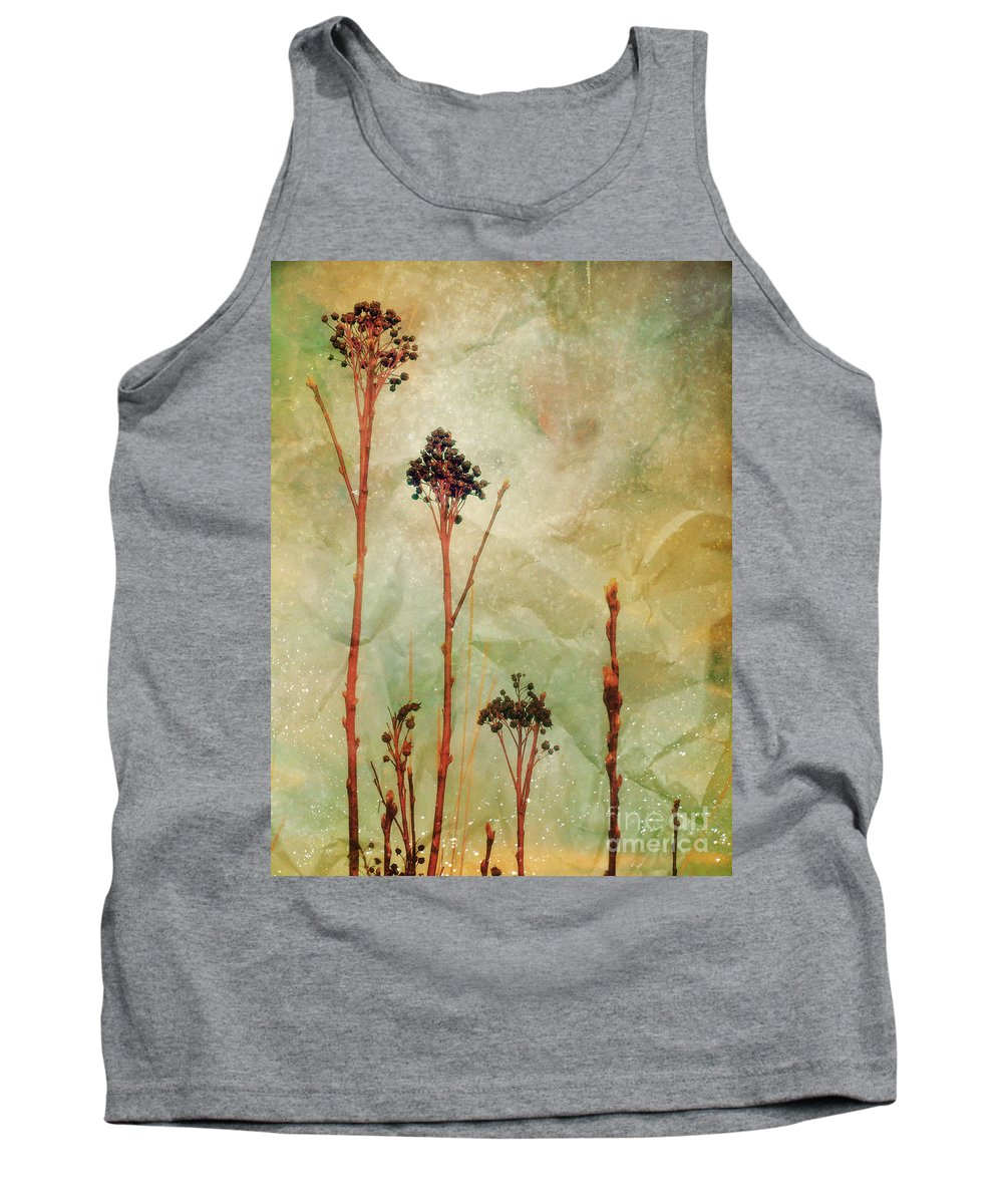 Weeds Tank Top featuring the photograph The Simple Things by Tara Turner