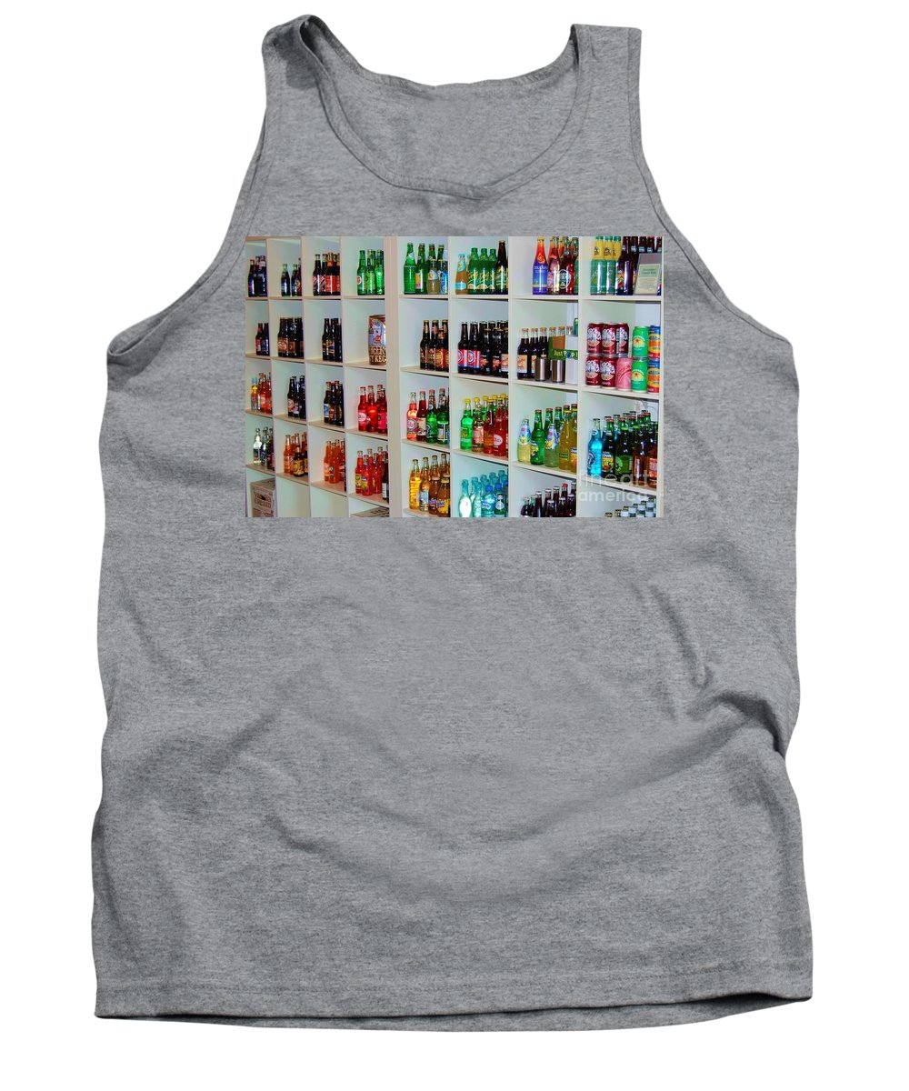 Soda Tank Top featuring the photograph The Soda Gallery by Debbi Granruth