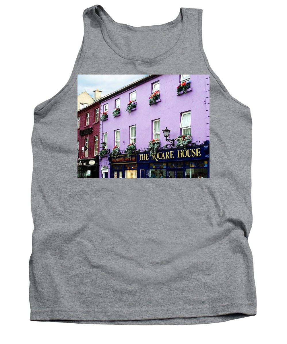 Irish Tank Top featuring the photograph The Square House Athlone Ireland by Teresa Mucha