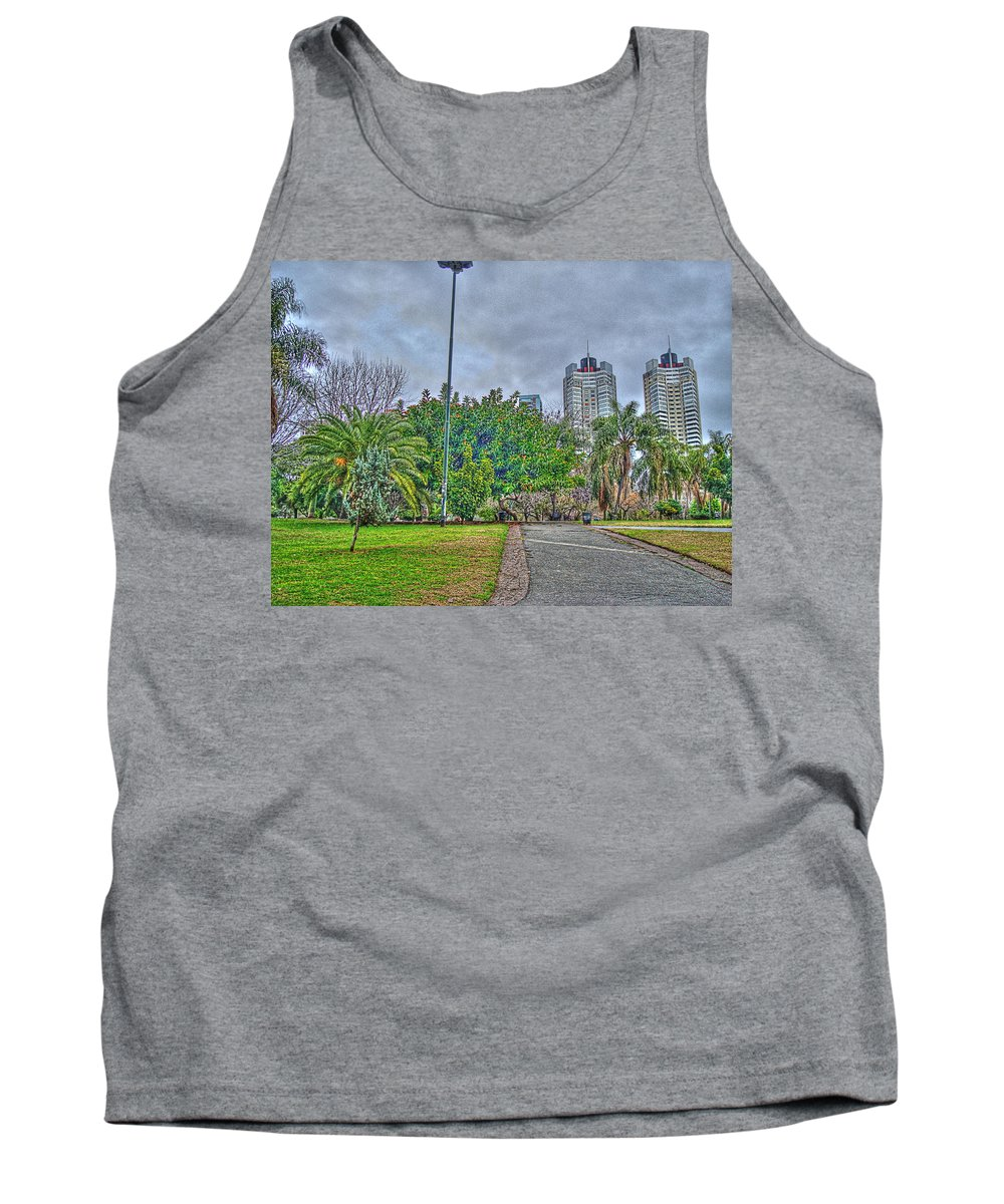 Towers Tank Top featuring the photograph The Towers by Francisco Colon