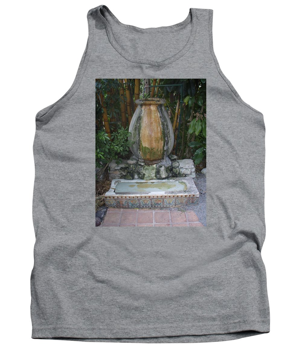 Urinal Tank Top featuring the photograph The Urinal by Robert Nickologianis