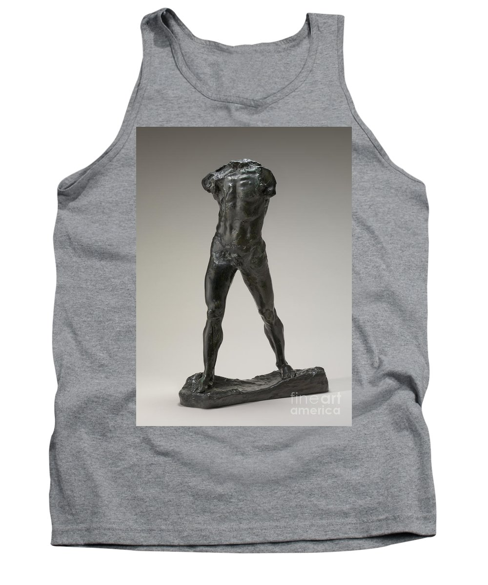 Tank Top featuring the photograph The Walking Man (l'homme Qui Marche) by Auguste Rodin