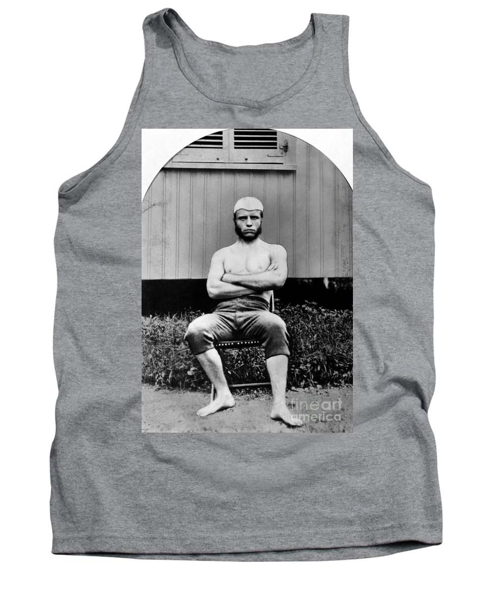 1880 Tank Top featuring the photograph Theodore Roosevelt by Granger