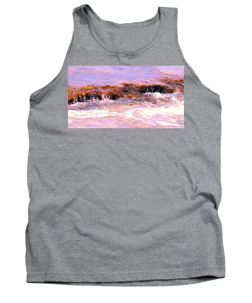 Tide Tank Top featuring the photograph Tidal Pool by Ian MacDonald