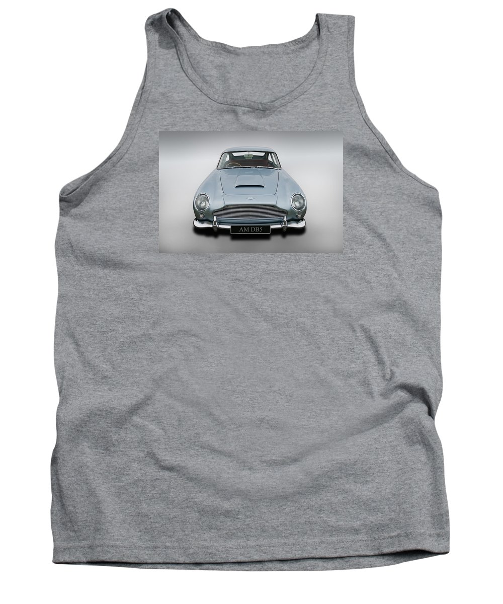 Automotive Tank Top featuring the digital art Timeless by Andy Flood