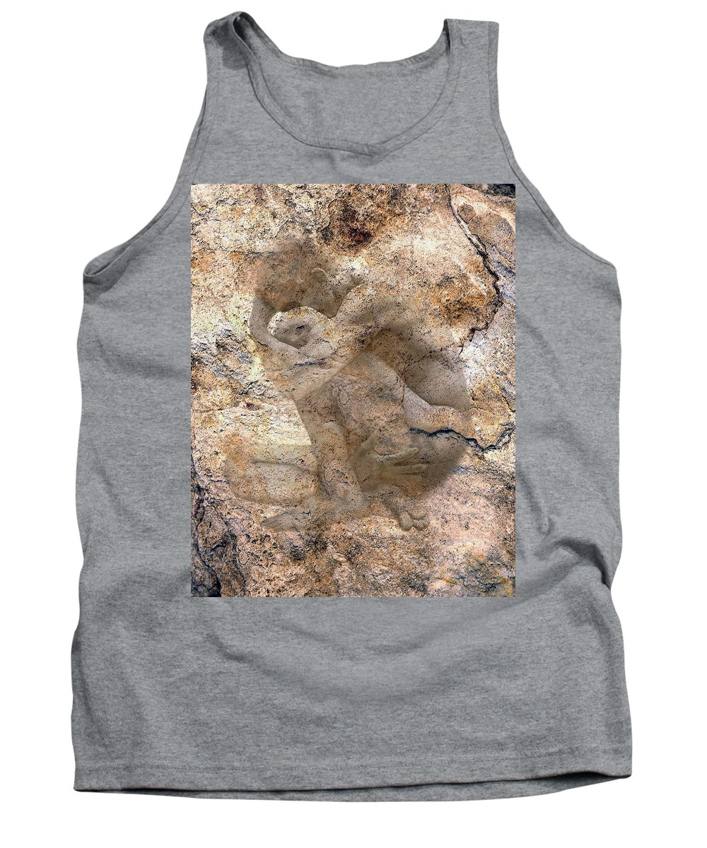 Nudes Tank Top featuring the photograph Timeless Male by Kurt Van Wagner
