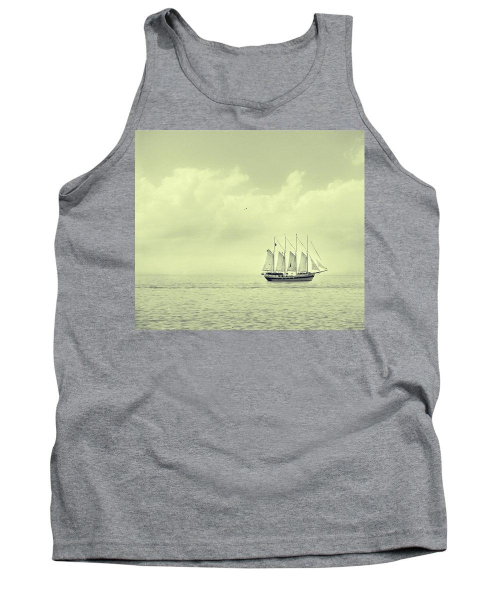 Ship Tank Top featuring the photograph To Hold Time In Your Hand by Dana DiPasquale