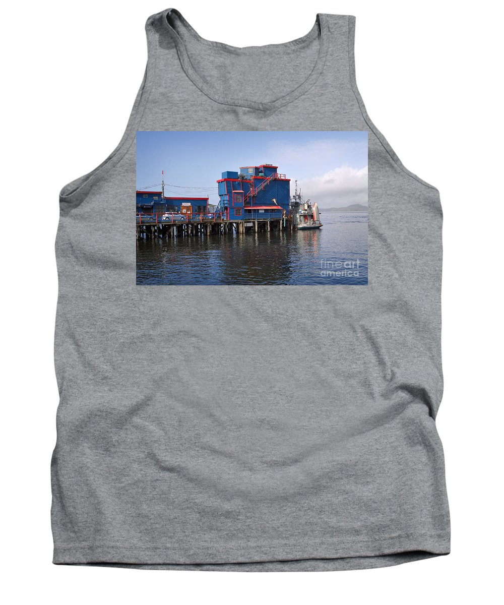 Travel Tank Top featuring the photograph Tofino On The West Coast Of Vancouver Island by Louise Heusinkveld
