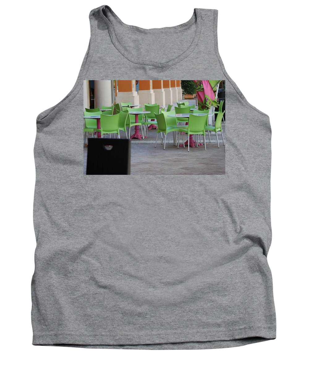 Chairs Tank Top featuring the photograph Token Chair by Rob Hans