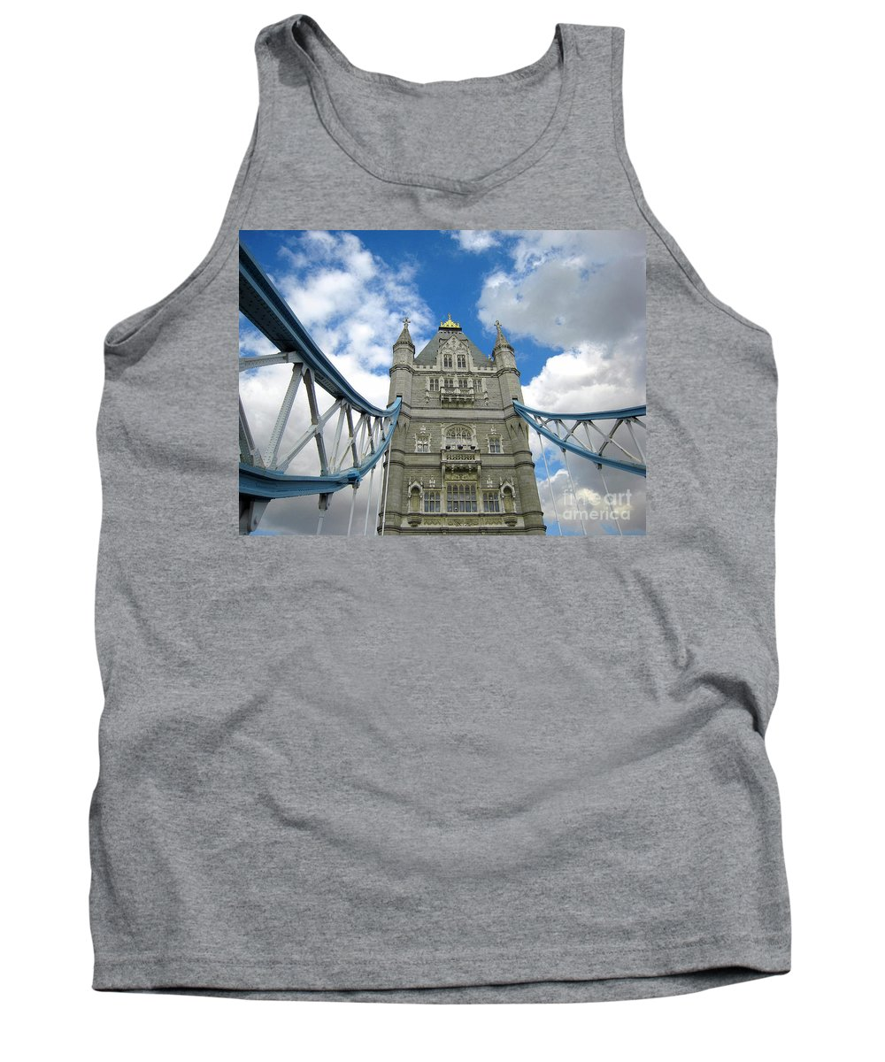London Tank Top featuring the photograph Tower Bridge 2 by Madeline Ellis