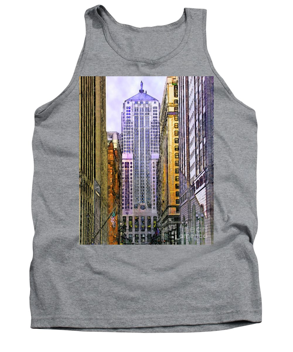 Trading Places Tank Top featuring the digital art Trading Places by John Beck